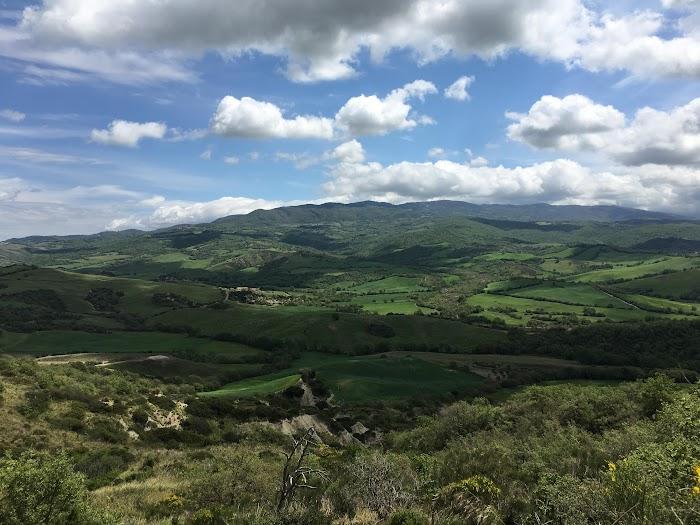 Monte Labbro, ssen from Cinigiano