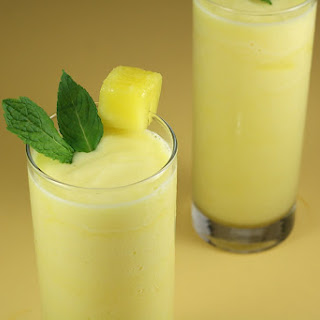 Pineapple Rum Slush.