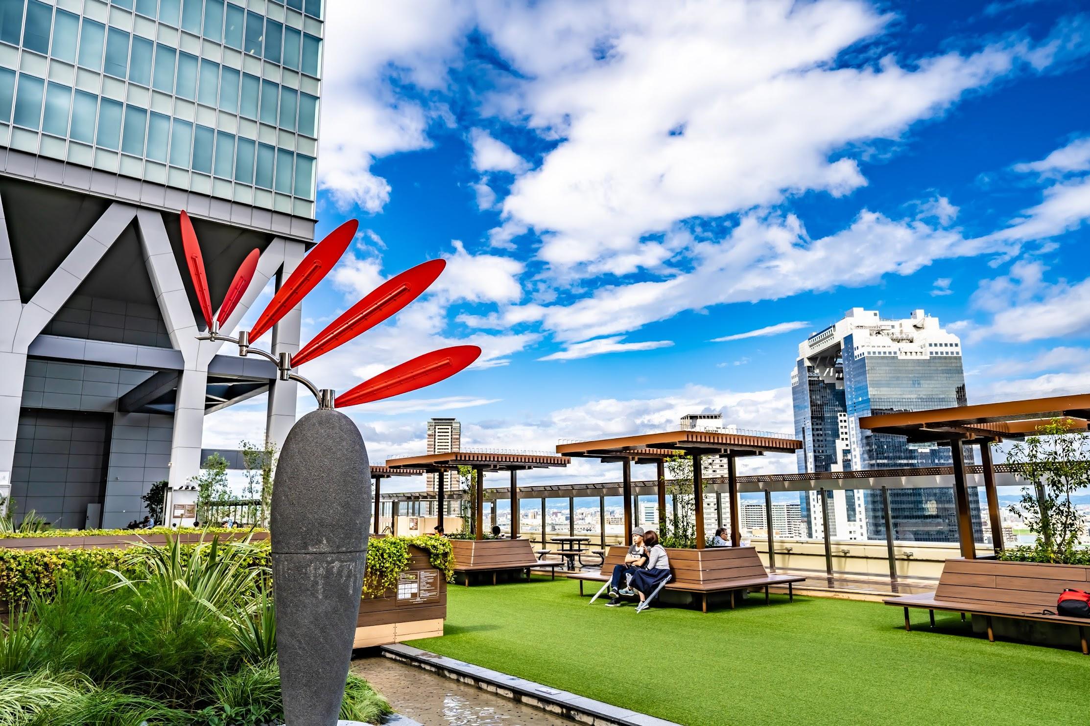 大阪ステーションシティ 風の広場2