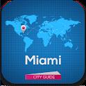 Miami Guide, Map & Hotels icon