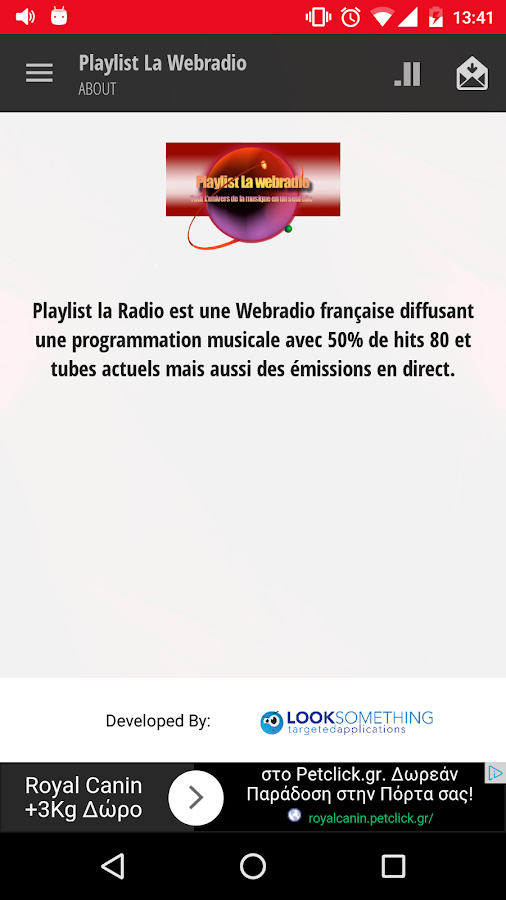 Playlist La Webradio- screenshot