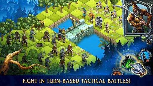 Heroes of War Magic.  Turn-based strategy 1.2.2 screenshots 1