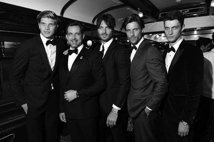 Toby Huntington Whiteley, Stéphane Gerschel, Giulio Berruti, Tommy Dunn and Matthew Bell