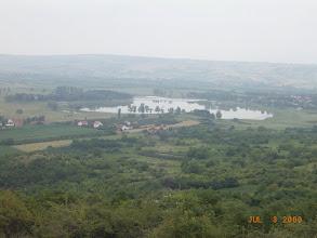 Photo: pogled na Oblačinsko jezero