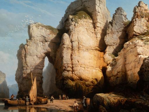 Segoura Fine Art - Charles Joseph Kuwasseg