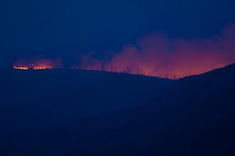 Photo: Ridge fire.