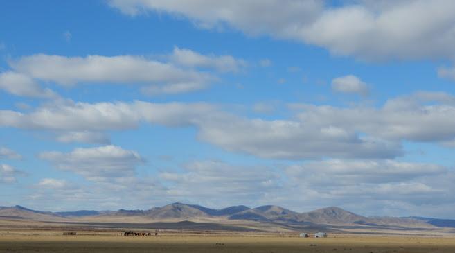 モンゴルの大自然