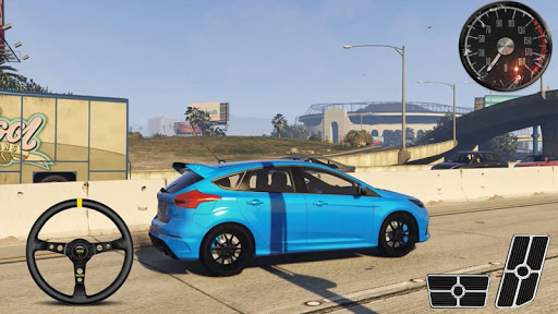 Parking Series Ford Focus RS - Drift Simulator  screenshots 2