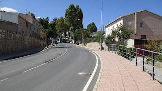 Avenida donde tendrá lugar la actuación.