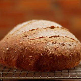 No-Knead Multigrain Peasant Bread.
