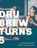 Dru Brews Bday - Birthday Flyer item