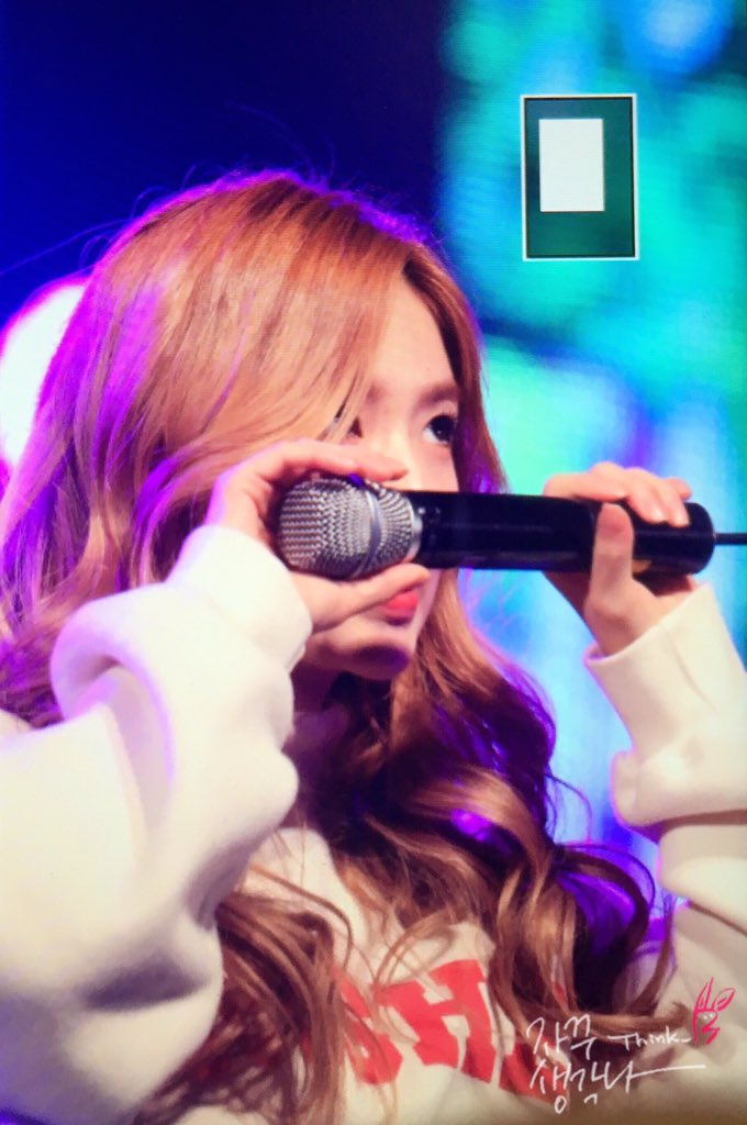irene sniffing microphone