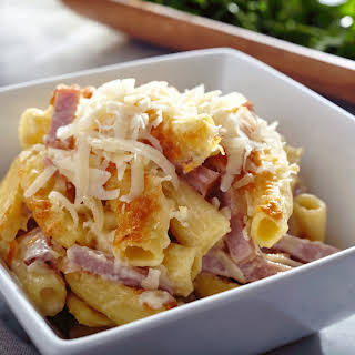 Mac 'n Ham and Cheese.