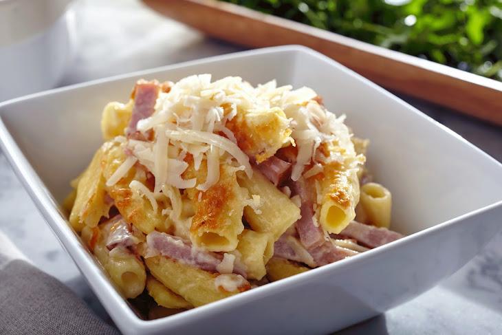 Mac 'n Ham and Cheese