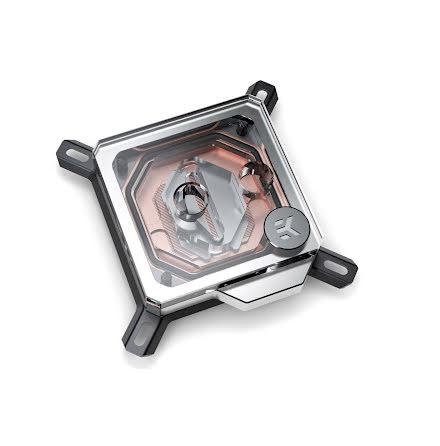 EK CPU-vannblokk, EK-Velocity - Copper + Plexi