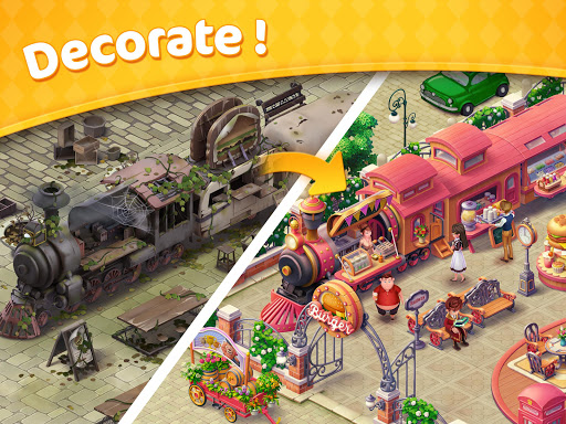 Jellipop Match-Decorate your dream townuff01 7.3.7 screenshots 8