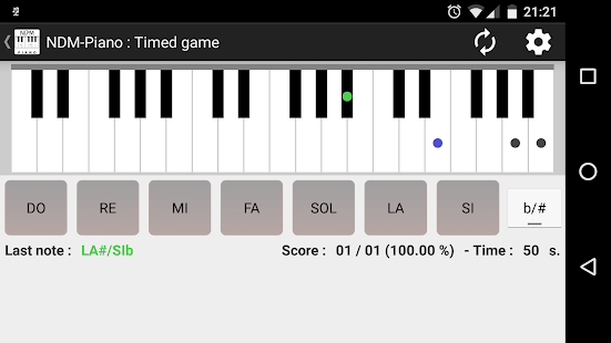 NDM - Piano (Learning to read musical notation)- screenshot thumbnail