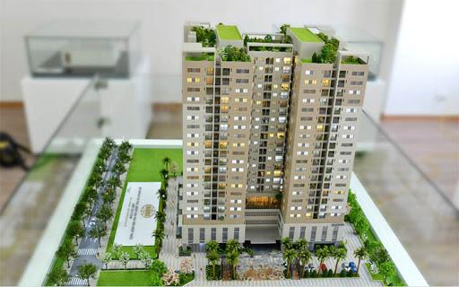 Mô hình kiến trúc chung cư