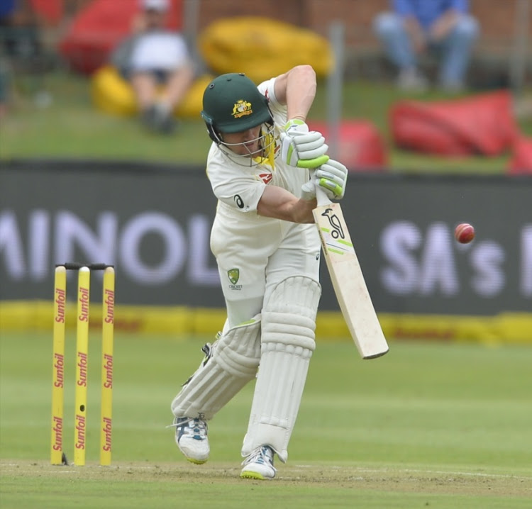 Cameron Bancroft of Australia during day 1 of the 2nd Sunfoil Test match between South Africa and Australia at St George's Park on March 09, 2018 in Port Elizabeth.