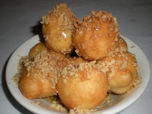 Loukoumades-greek Donuts