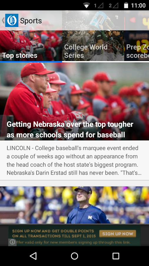 Omaha World-Herald Omaha.com- screenshot