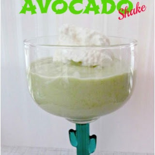 Refreshing Avocado Shake