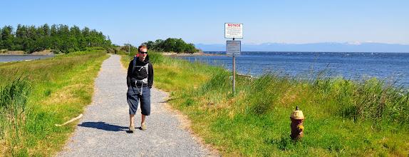 Photo: Pipers Lagoon pathway, Nanaimo, BC, Canada