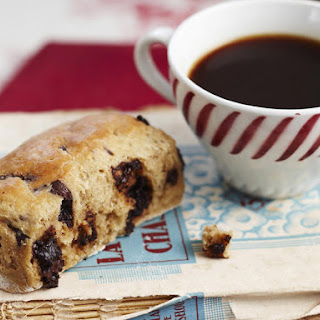 Chocolate and Coffee Scones.
