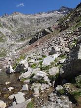 Photo: Cap de l'ivó d'Arriel Baxo (2on estany). D'aquí parteix el camí cap als Frondellas.