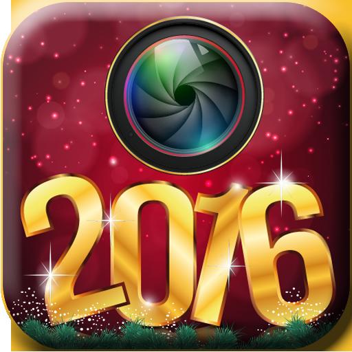 个人化のパーソナライズされたグリーティングカード – 幸せな新年の LOGO-記事Game