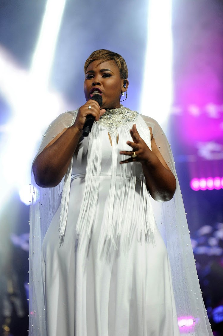 Gospel superstar Lebo Sekgobela staged her much-awaited live CD and DVD recording last night at Rhema Bible Church.
