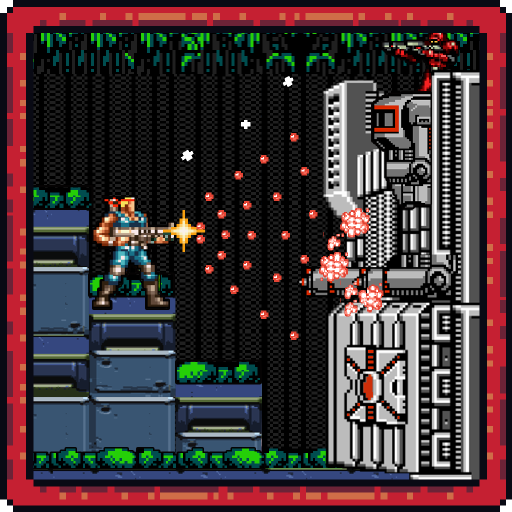 Classic game for contra 2017