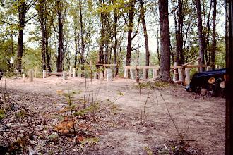 Photo: cabin site