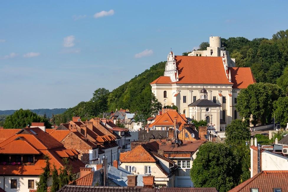 Kazimierz Dolny, widok z Góry Plebaniej
