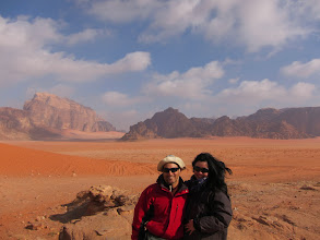 Photo: At Wadi Rum