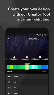 Muviz – Status Bar & Navbar Music Visualizer Screenshot