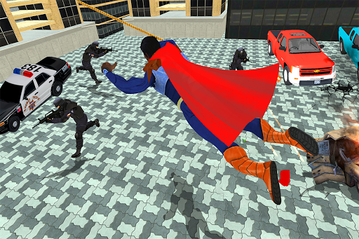 Black Rope Hero Vegas Mafia Superhero Crime Battle screenshot 4