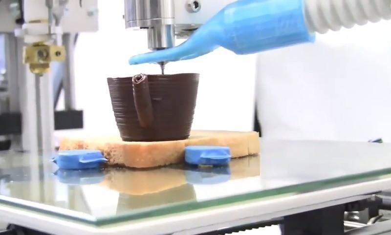3D-печать продуктов сокращает отходы