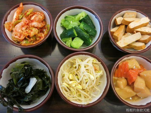 韓玉亭 韓式料理 飲料小菜無限量供應 新莊美食