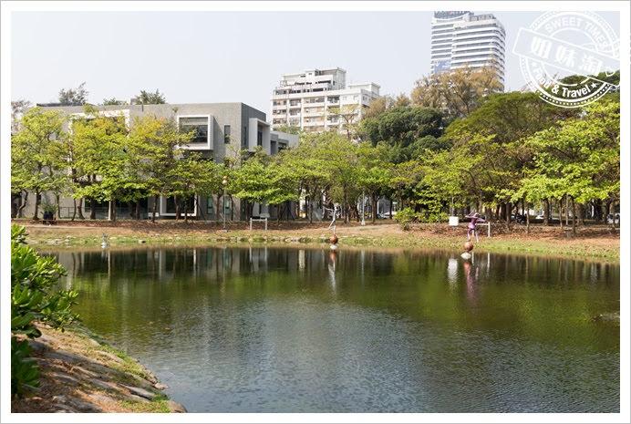 中央公園水池
