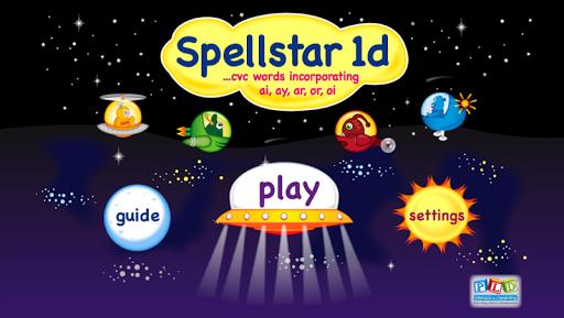 Spell Star 1d: ar or ai LITE