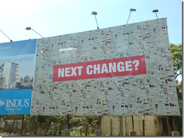 Times of India Hoarding?