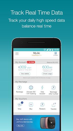 MyJio screenshot 2