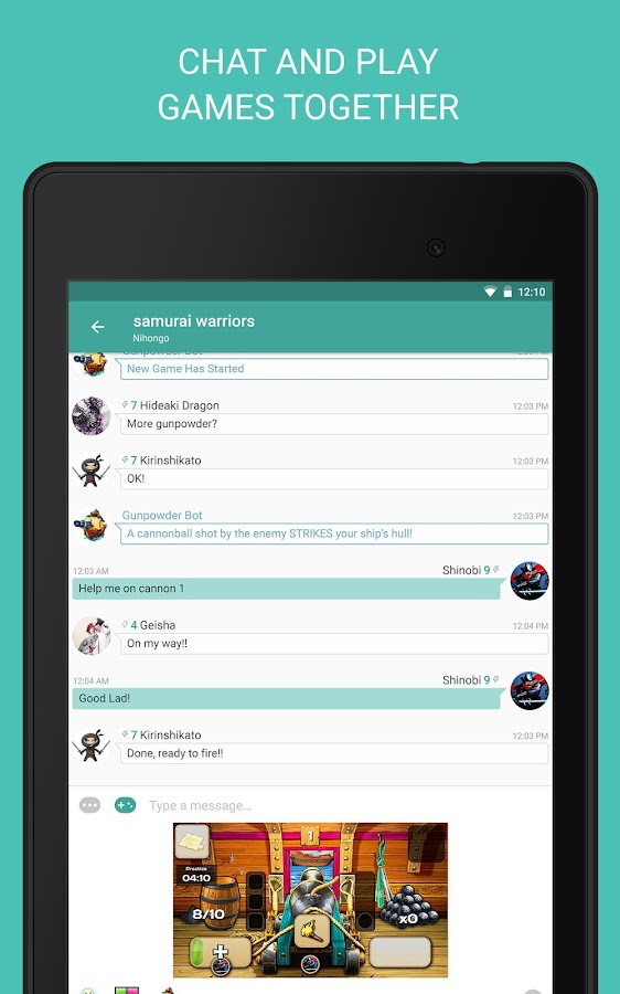 Palringo Group Messenger- screenshot