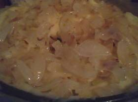 Souped Up Mashed Potatoes With Carmalized Onions Recipe