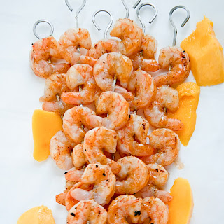 Mango Chili Glazed Shrimp #FoodieMamas