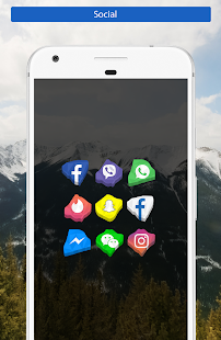 Crystal - Icon Pack Screenshot