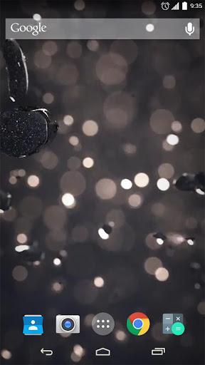 Shiny Rain HD Live Wallpaper