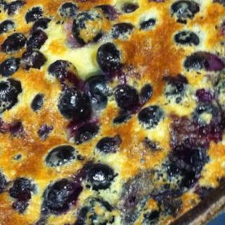 Chef John's Blueberry Clafoutis.