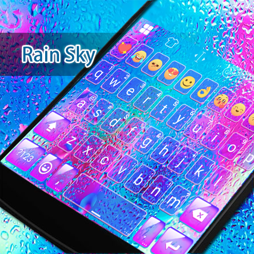 Rainy Day Eva Keyboard-Diy Gif 遊戲 App LOGO-硬是要APP